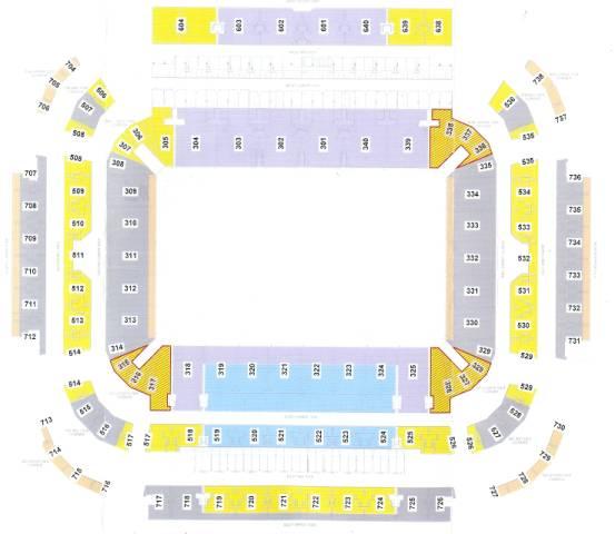 lang park seating map